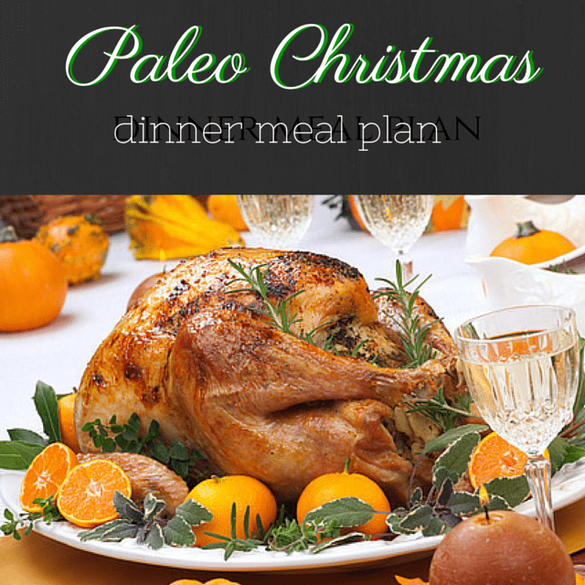 paleo christmas dinner menu