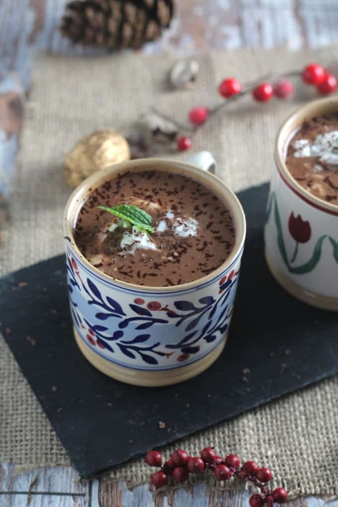paleo christmas hot drinks