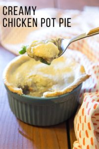 paleo creamy chicken pot pie