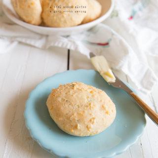 Grain-Free Dill Cheddar Cheese Rolls