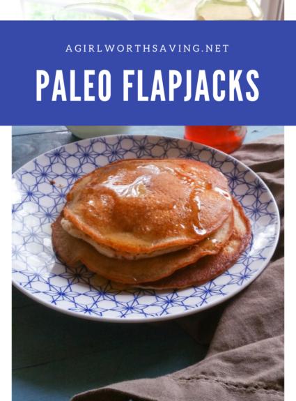 Cassava Flour Flapjacks