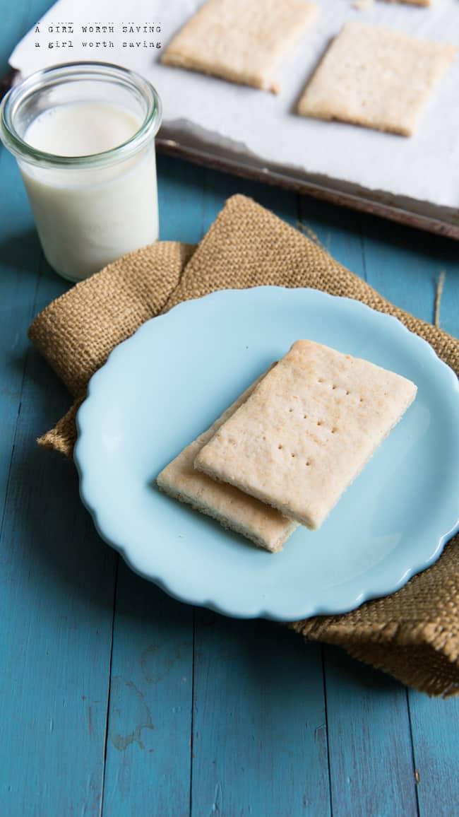 paleo honey graham crackers