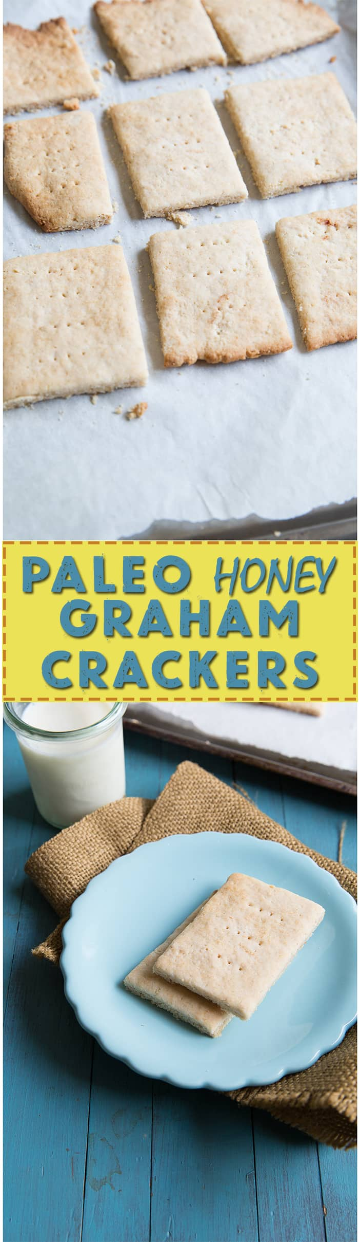 paleo honey graham crackers