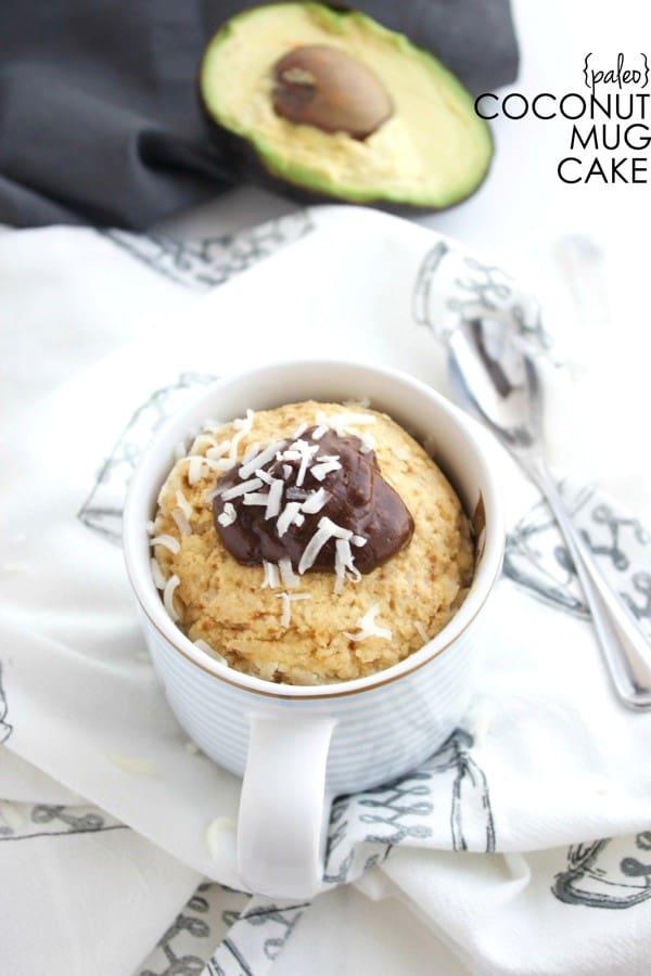 paleo mug cake
