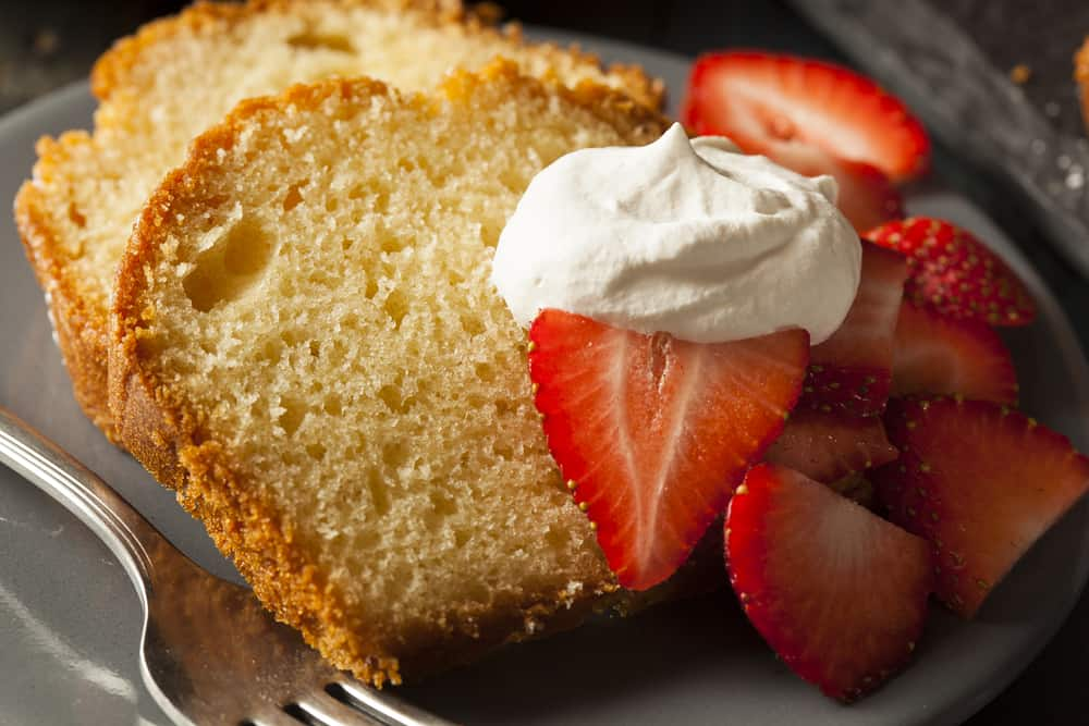 This rich and dense gluten free pound cake has the perfect, buttery soft crumb. Made with coconut flour this recipe is nut-free, paleo and grain-free.