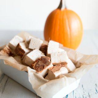 paleo pumpkin spice marshmallows