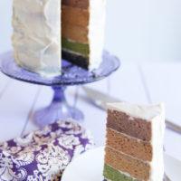 Paleo Rainbow Cake