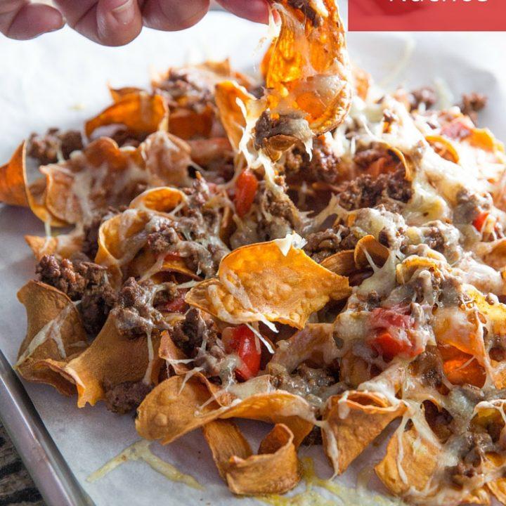 Paleo Sweet Potato Nachos