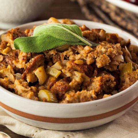 Gluten-free Paleo Thanksgiving Stuffing Recipe