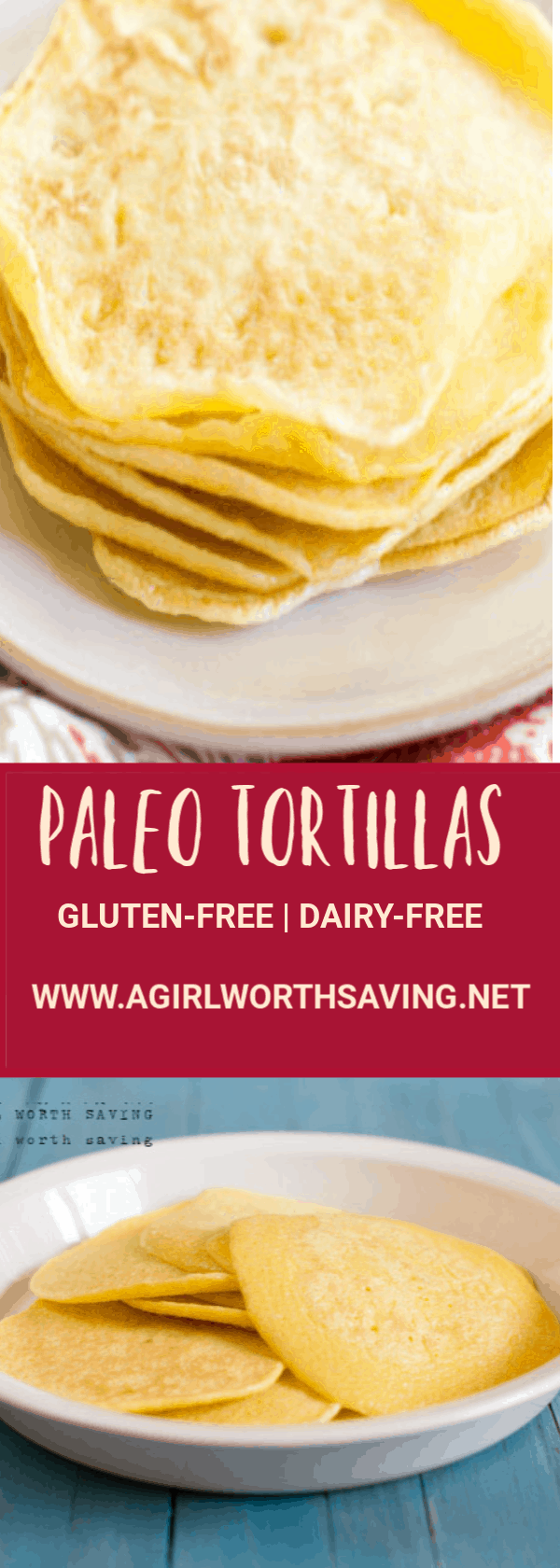 Ready to enjoy a paleo burrito made with these foldable paleo tortillas? This simple wraps recipe is made with less than 10 ingredients and holds up under a pile of sweet or savory fillings.
