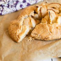 Paleo Rustic Apple Tartlets