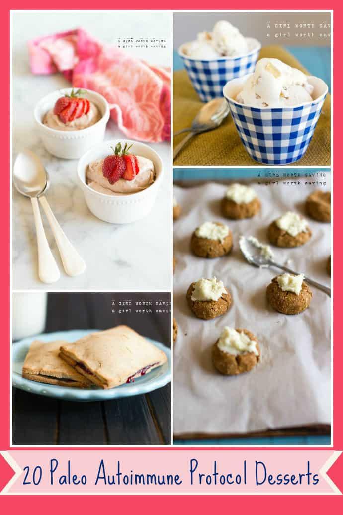 autoimmune protocol dessert
