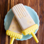 paleo banana cream popsicles