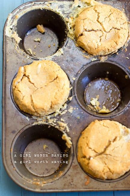 Paleo Breakfast Biscuit Cup