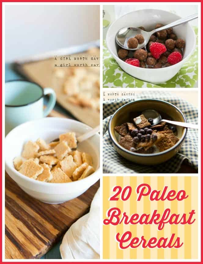 paleo breakfast cereals