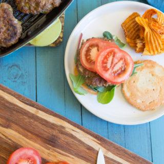 The Paleo Cajun Burger