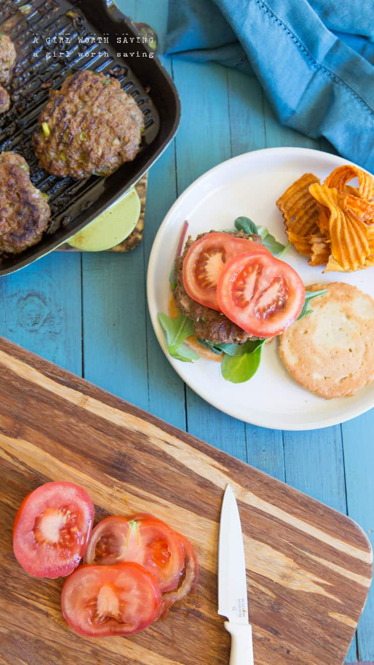 The Paleo Cajun Burger