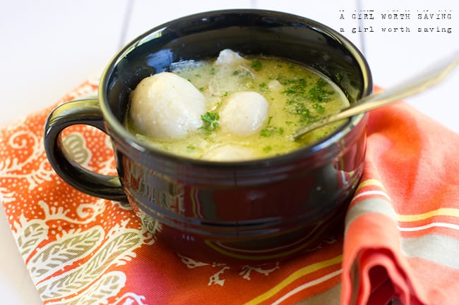 paleo chicken and dumplings