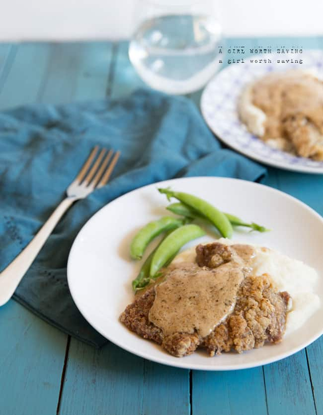 Paleo Chicken Fried Steak