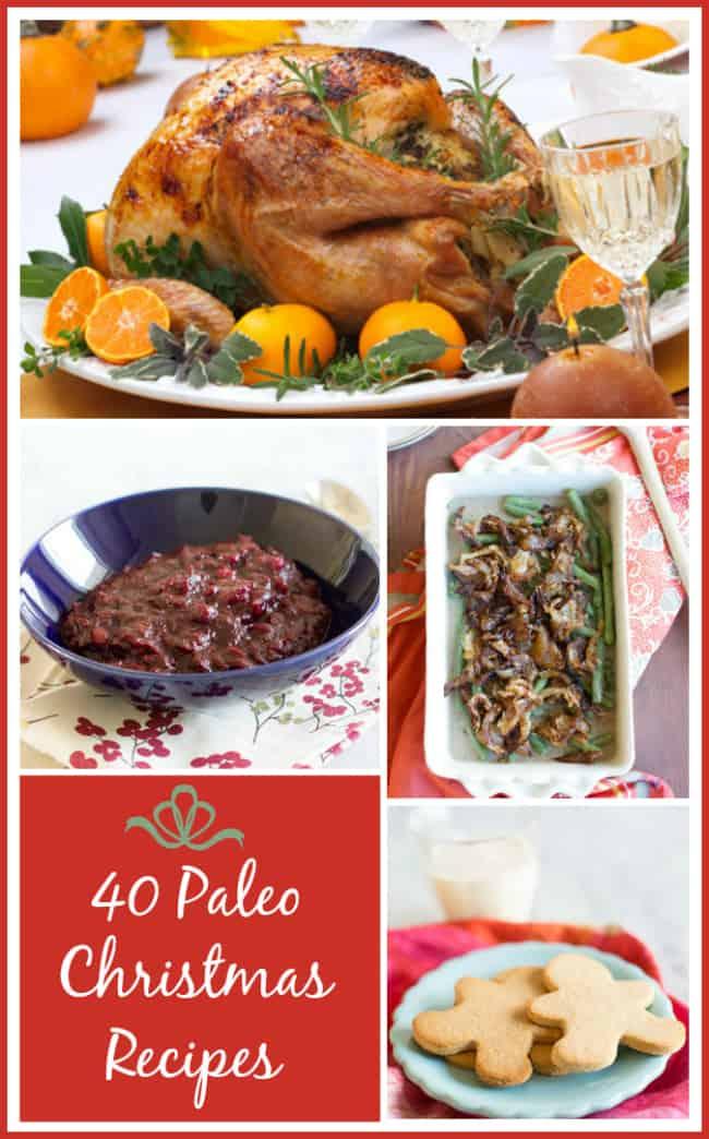 40 Paleo Christmas Recipes