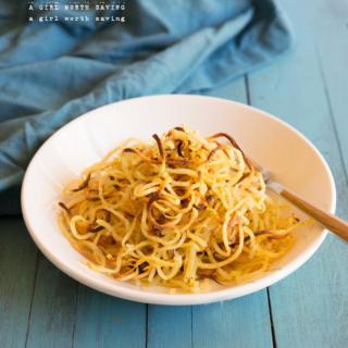 paleo crispy noodles
