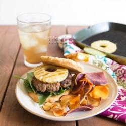 paleo Hawaiian burgers