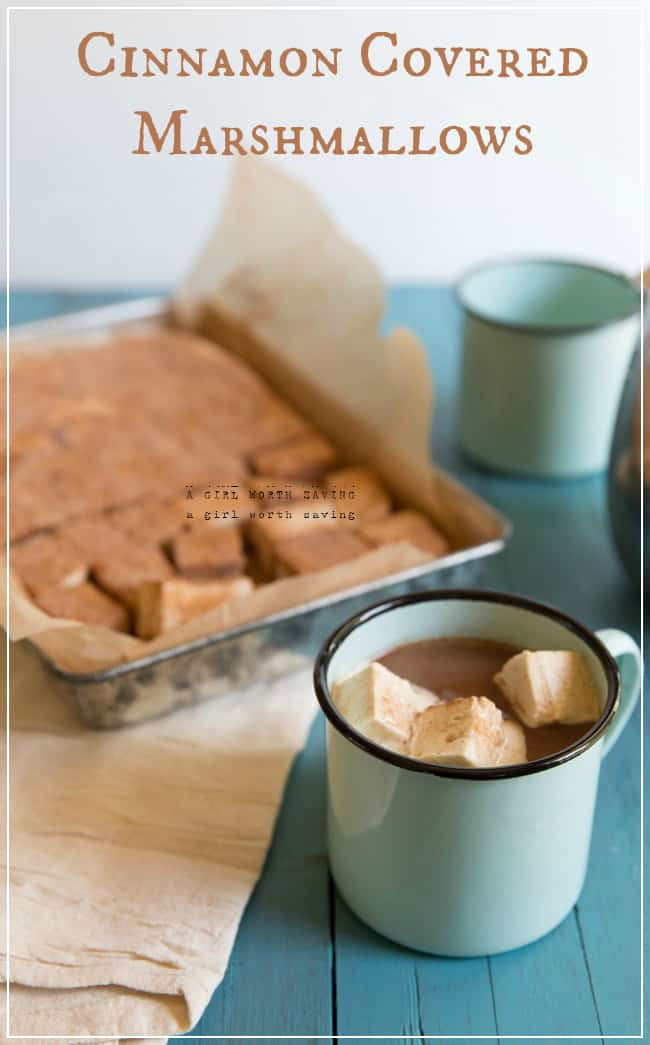 The Gelatin Secret + Cinnamon Covered Paleo Marshmallows