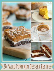 paleo pumpkin dessert recipes