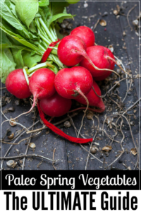 Get the ultimate guide to Spring Paleo Vegetables