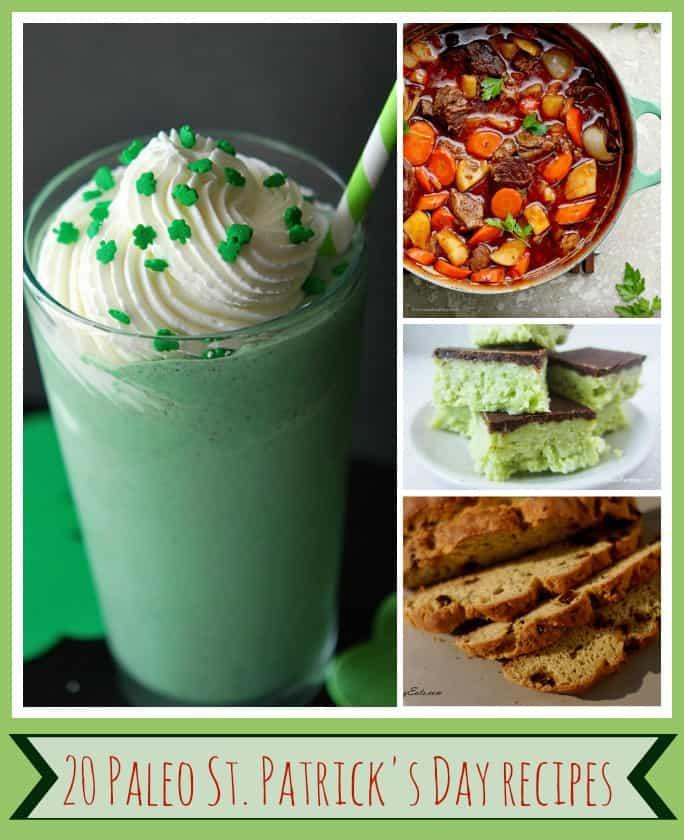 20 Paleo St. Patrick's Day Recipes
