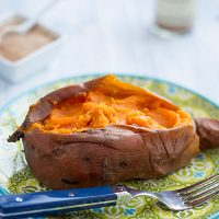 Perfect Baked Sweet Potatoes in the Pressure Cooker and Oven | FatFree Vegan Kitchen