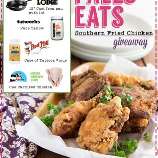 paleo eats southern fried chicken giveaway