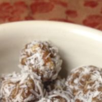 Spiced Orange Date Balls