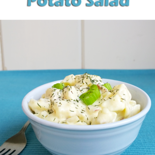 Classic potato salad - A Girl Worth Saving