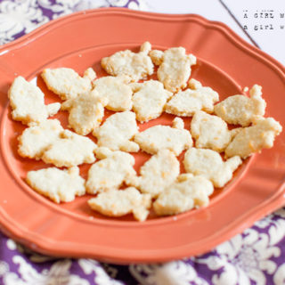 Gluten free White Cheese Crackers