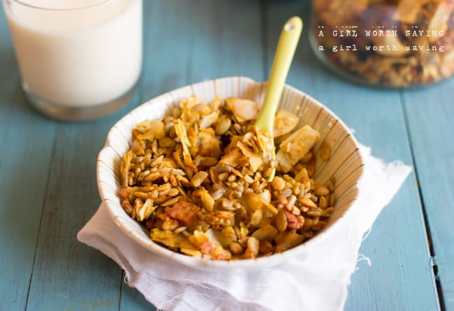 Pumpkin Granola - Paleo Recipes, Gluten-free Recipes and Grain-free ...