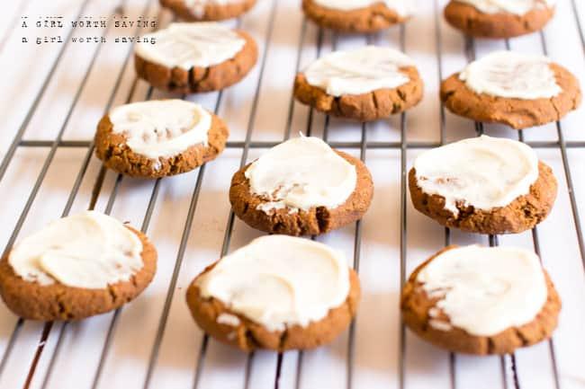 Paleo Pumkkin Spice Cookies