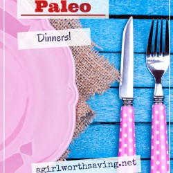 yummy quick and easy paleo dinners