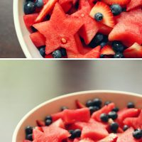 Cookie Cutter Fruit Salad