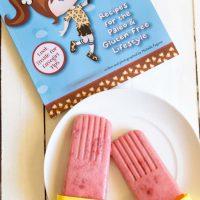 Strawberry Cream Popsicles + Cavegirl Cuisine Cookbook Review