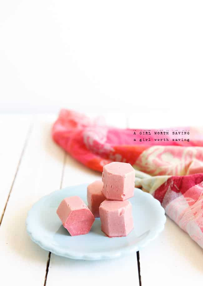 strawberry ice cream bon bons