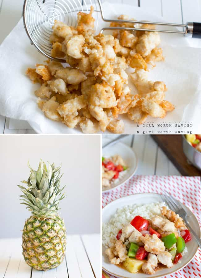 Paleo Sweet and Sour Chicken | A Girl Worth Saving