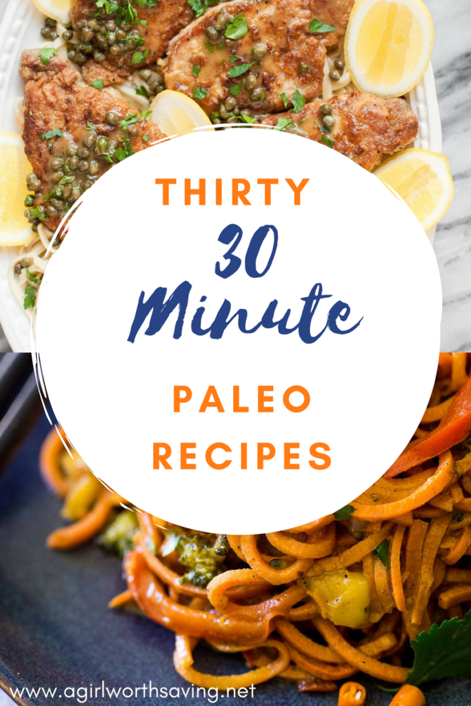 Anyhow, I can't eat hot dogseveryday so I stick to cooking, no fuss, simple 30 minute paleo recipes so that I'm not spending hours in the kitchen and my family doesn't revolt.