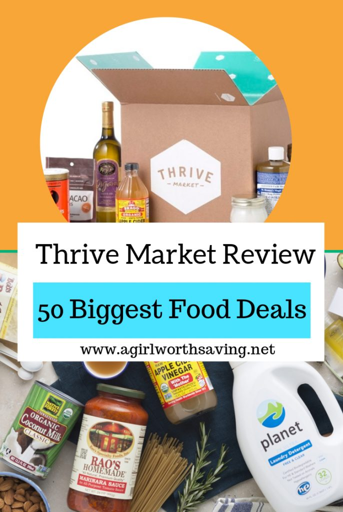 So, I feel like I'm late to the party when it comes to Thrive Market. Amazon haschanged my life when it comes to shopping and, well, I just didn't want to learn another site and, yeah, just pure laziness.