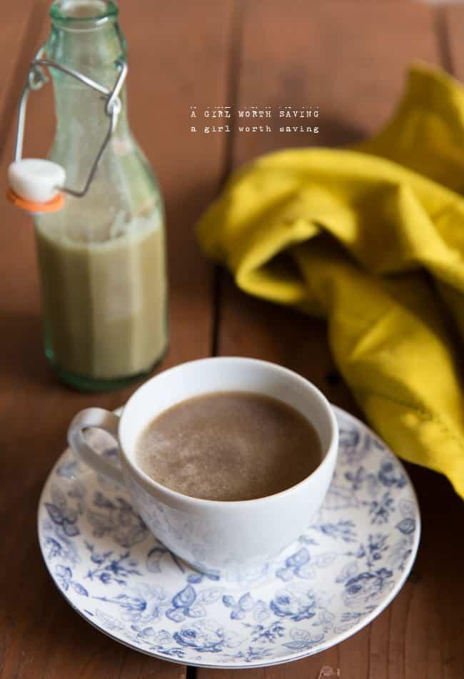 Dairy-Free Caramel Creamer
